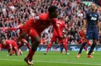 Sturridge against Man Utd