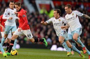 Manchester United winger Adnan Januzaj