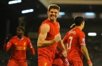 Gerrard scores against Fulham