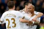 Everton 1-2 Swansea