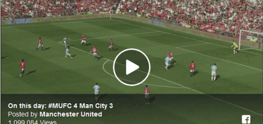 Manchester United 4-3 Manchester City