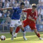 Everton Vs Liverpool - Marouane and Mikel Arteta