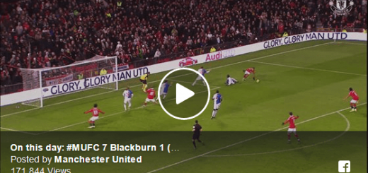 Man Utd 7-1 Blackburn