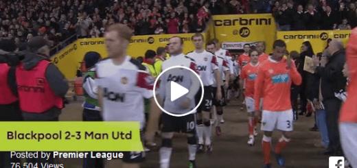 Blackpool Vs Man Utd