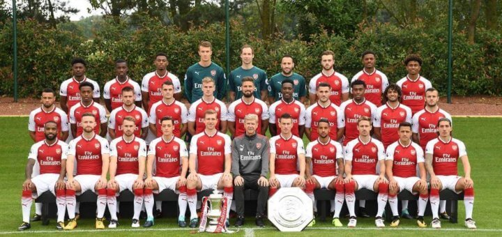 Arsenal Squad 2017