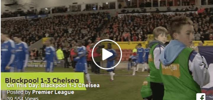 Blackpool Vs Chelsea