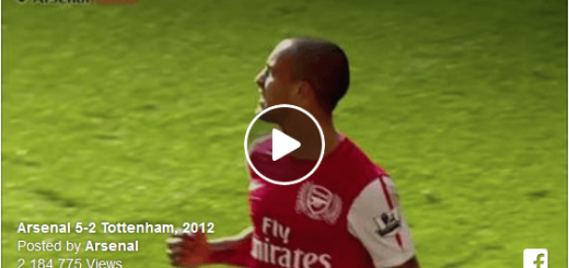 Arsenal 5-2 Tottenham, 2012