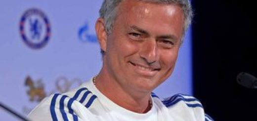 Jose Mourinho during a press conference in Bangkok