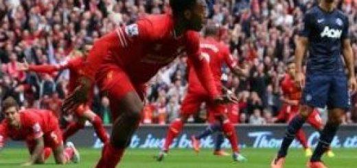 Sturridge against Man Utd
