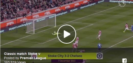 Stoke Vs Chelsea