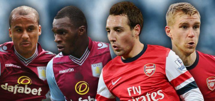 Aston Villa Vs Arsenal