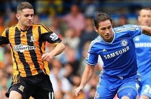 Robbie Brady and Frank Lampard