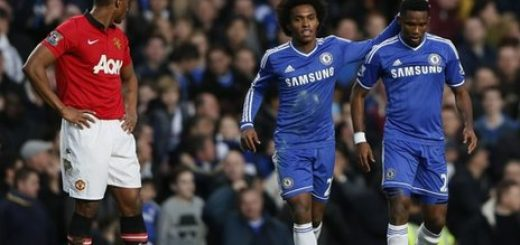Samual Eto't and Willian