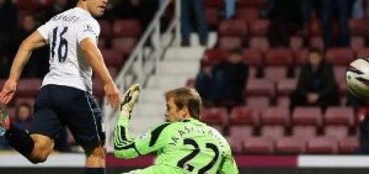 Sergio Aguero Scores Against West Ham