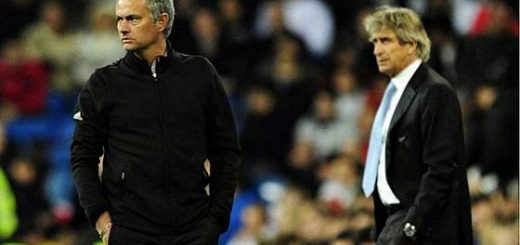 Pellegrini and Mourinho