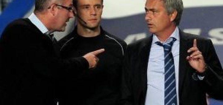 Paul Lambert and Jose Mourinho