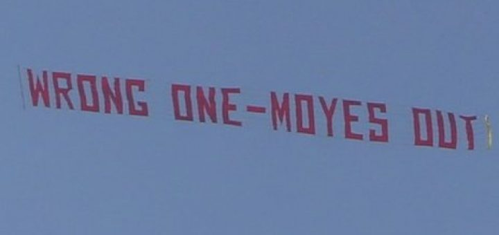 Wrong one Moyes out