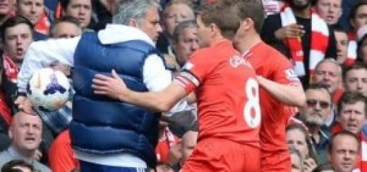 Jose Mourinho and Gerrard