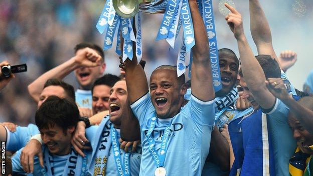 Champions - Manchester City