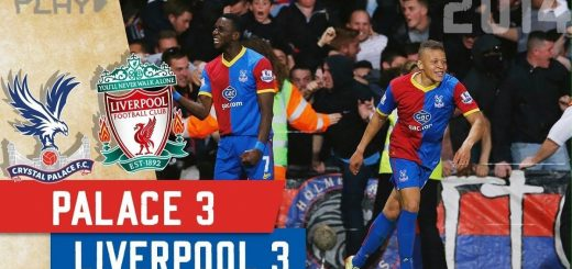 Crystal Palace 3-3 Liverpool