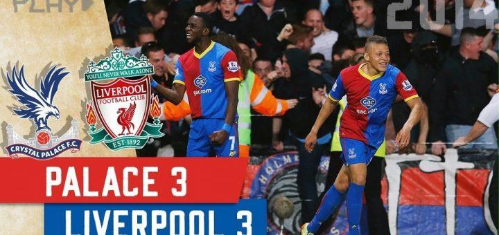 Crystal Palace 3-3 Liverpool