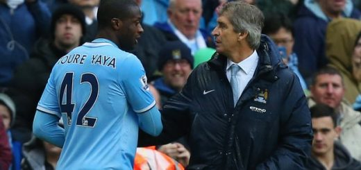 Toure and Pellegrini