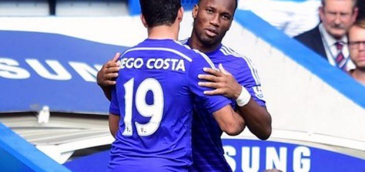 Costa and Drogba