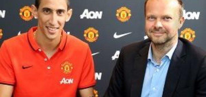 United sign Di Maria