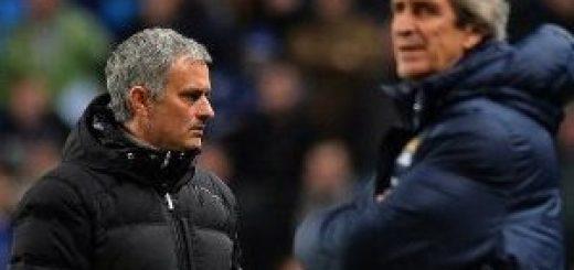 Mourinho and Pellegrini