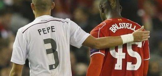 Pepe and Balotelli