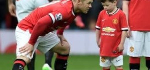 Rooney and son Kai