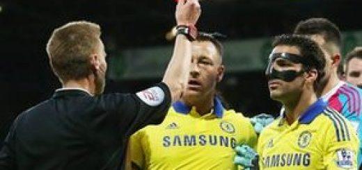 Fabregas red card