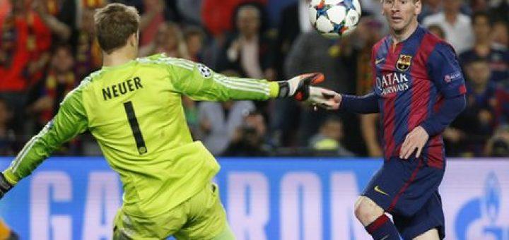 Messi and Neuer
