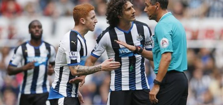 Jack Colback and Fabricio Coloccini