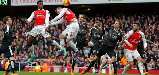 Arsenal 2-1 Leicester