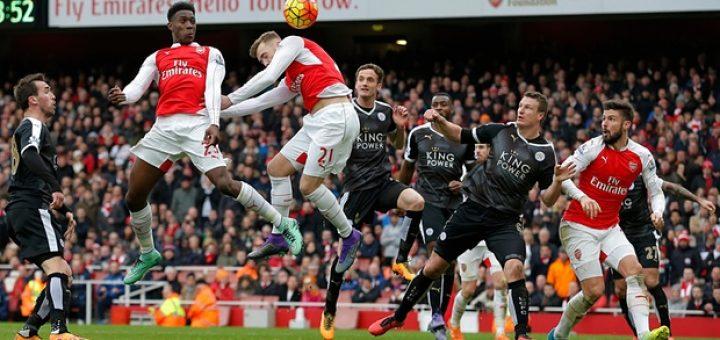 Arsenal 2-1 Leicester