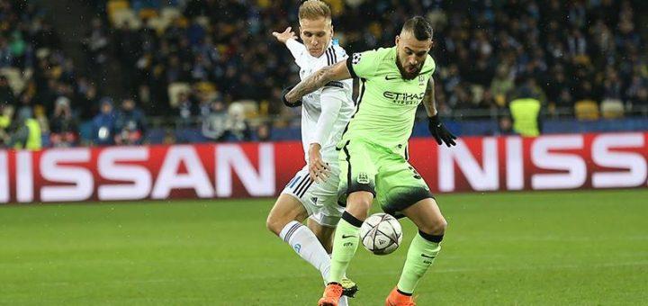 Dynamo Kiev 1-3 Man City