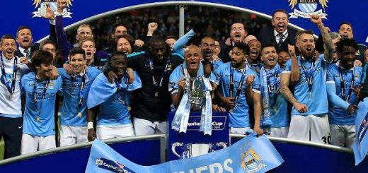 Man City League Cup Winners 2016
