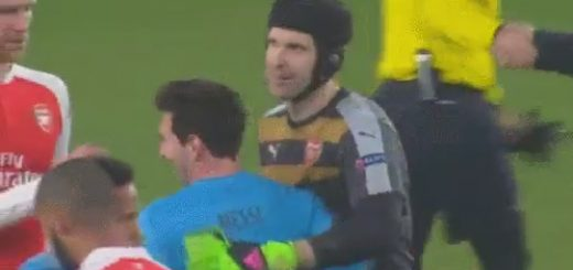 Messi and Cech