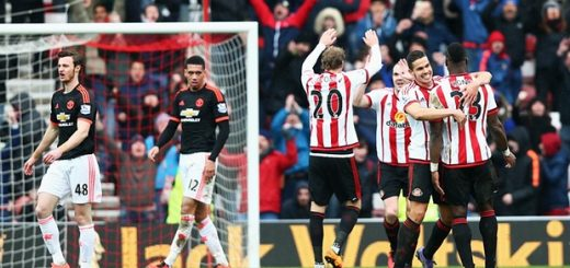 Sunderland 2-1 Man Utd