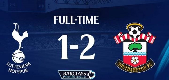 Tottenham 1-2 Southampton