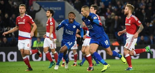 Leicester City 2-2 Middlesbrough