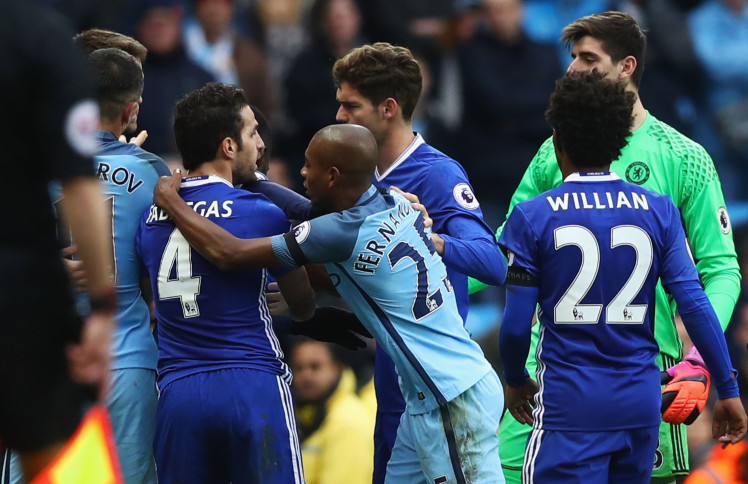 Manchester City v Chelsea Clash