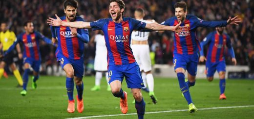 Barcelona made Champions League history