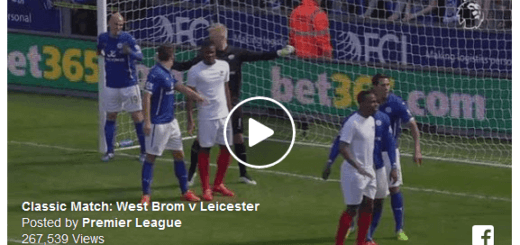 West Brom Vs Leicester