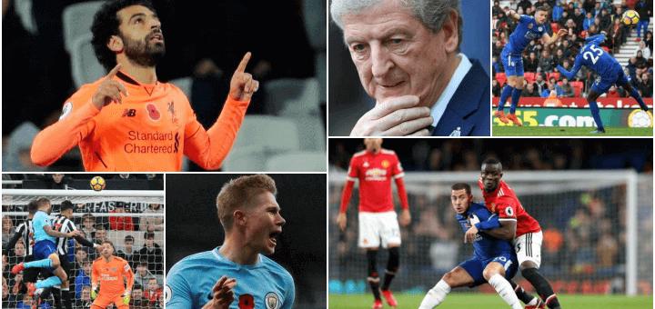 Premier Leauge 2017 - Match week 11
