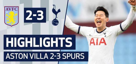 Aston Villa 2-3 Tottenham
