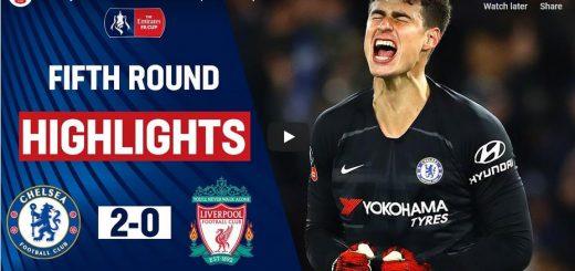 Chelsea Vs Liverpool - FA Cup