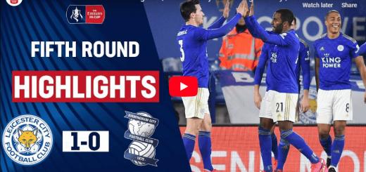 Leicester City 1-0 Birmingham City