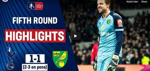Tottenham Hotspur 1-1 Norwich City